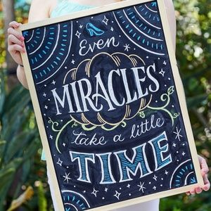 Other - Even Miracles Take A Little Time